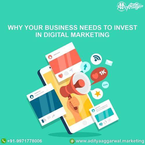 Invest In Digital Marketing, power of digital marketing, why choose digital marketing, why invest in digital marketing, why is digital marketing important, why us for digital marketing, Why Your Business Needs To Invest In Digital Marketing